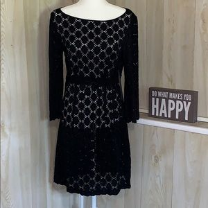 Black swim cover up from Laundry by Shelli Segal